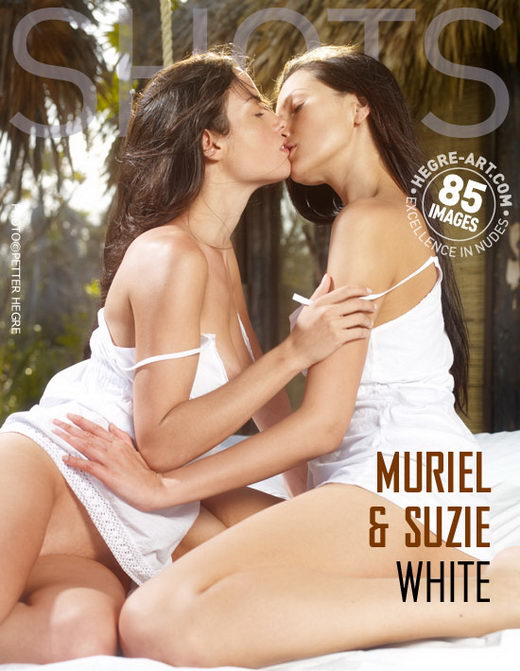 Muriel & Suzie - `White` - by Petter Hegre for HEGRE-ART