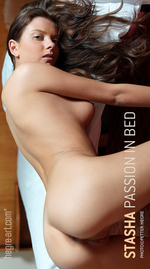 Stasha - `Passion In Bed` - by Petter Hegre for HEGRE-ART