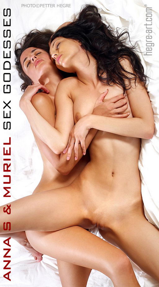 Anna S & Muriel - `Sex Goddesses` - by Petter Hegre for HEGRE-ART