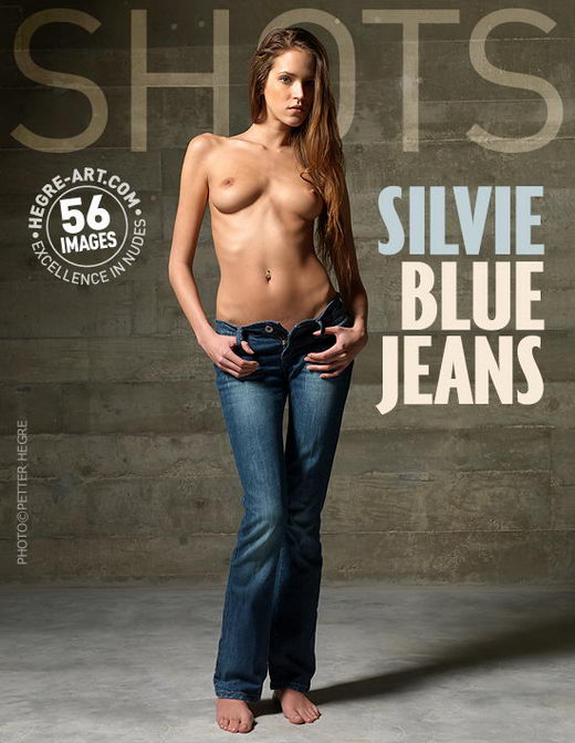 Silvie - `Blue Jeans` - by Petter Hegre for HEGRE-ART