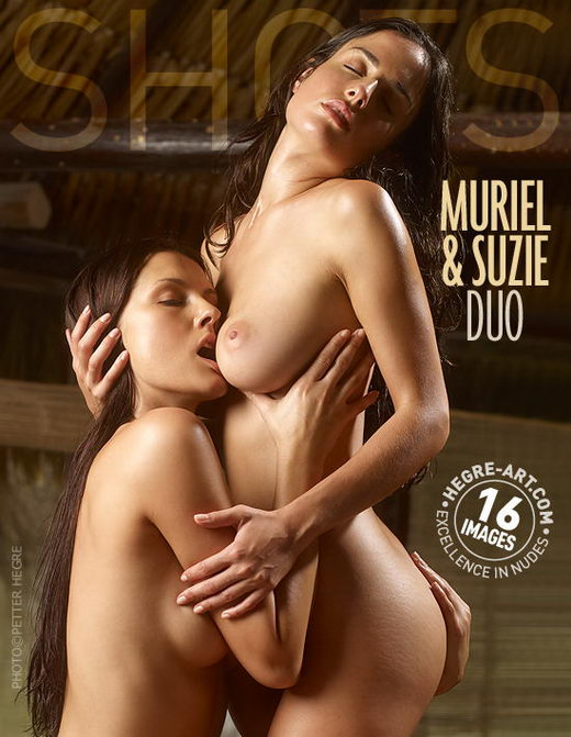 Muriel & Suzie - `Duo` - by Petter Hegre for HEGRE-ART