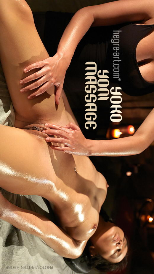 Yoko - `Yoni Massage` - by Petter Hegre for HEGRE-ART