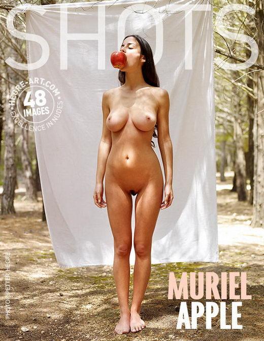 Muriel - `Apple` - by Petter Hegre for HEGRE-ART