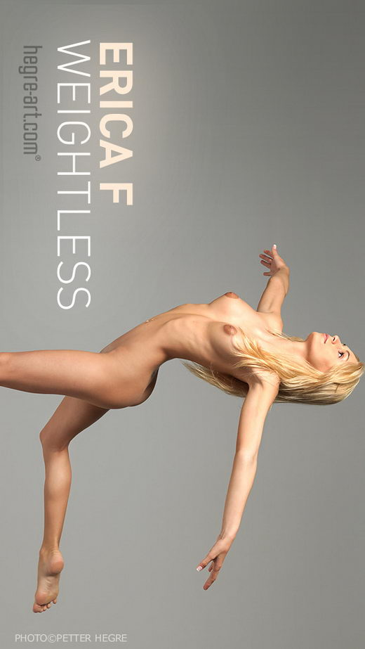 Erica F - `Weightless` - by Petter Hegre for HEGRE-ART