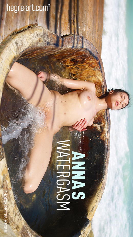 Anna S - `Watergasm` - by Petter Hegre for HEGRE-ART
