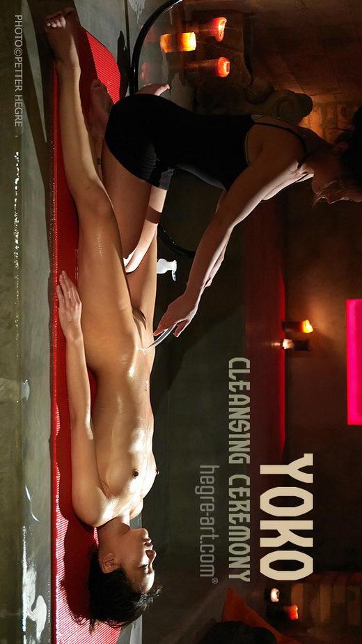 Yoko - `Cleansing Ceremony` - by Petter Hegre for HEGRE-ART
