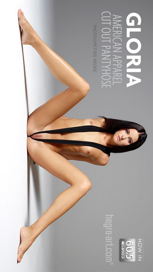Gloria - `American Apparel Cut Out Pantyhose` - by Petter Hegre for HEGRE-ART