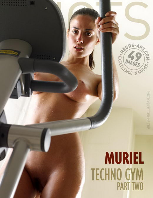 Muriel - `Techno Gym Part 2` - by Petter Hegre for HEGRE-ART