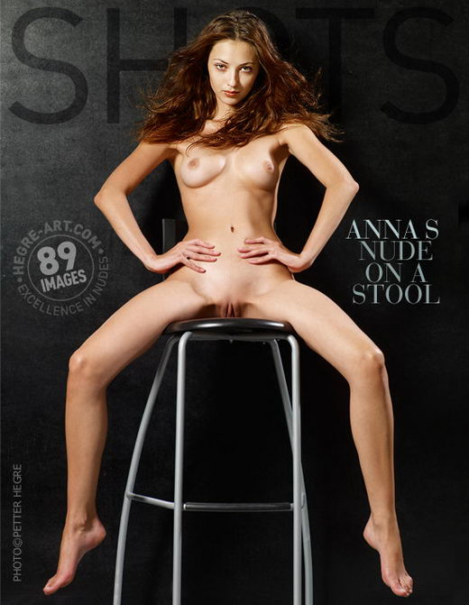 Anna S - `Nude On A Stool` - by Petter Hegre for HEGRE-ART