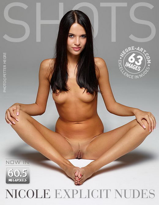 Nicole - `Explicit Nudes` - by Petter Hegre for HEGRE-ART