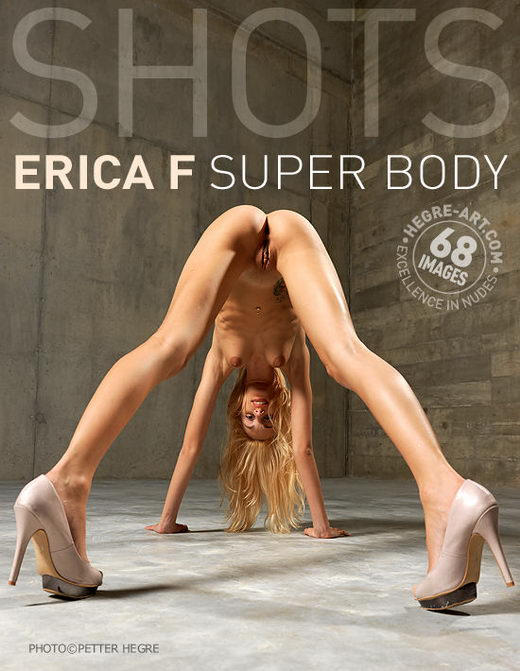 Erica F - `Super Body` - by Petter Hegre for HEGRE-ART