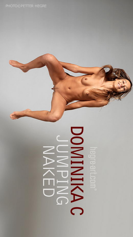 Dominika C - `Jumping Naked` - by Petter Hegre for HEGRE-ART