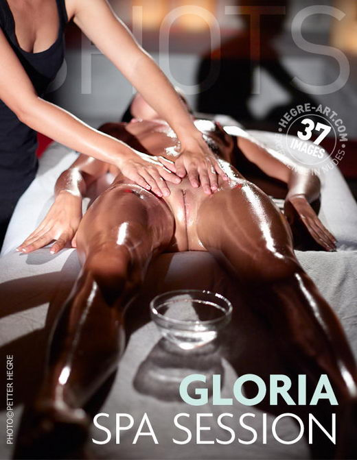 Gloria - `Spa Session` - by Petter Hegre for HEGRE-ART