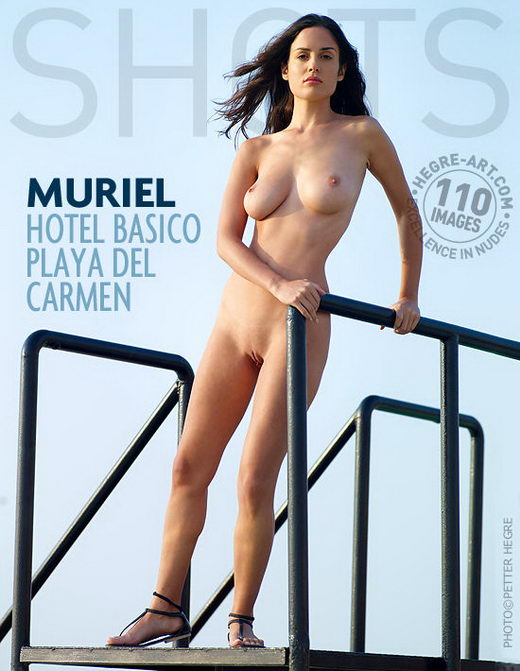 Muriel - `Hotel Basico Playa Del Carmen` - by Petter Hegre for HEGRE-ART