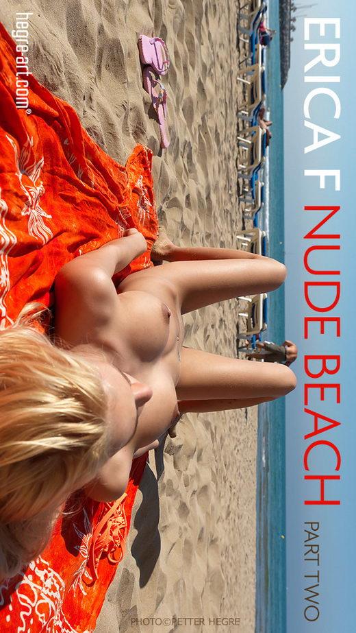 Erica F - `Nude Beach - Part 2` - by Petter Hegre for HEGRE-ART