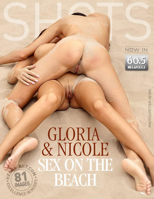 Gloria & Nicole - `Sex On The Beach` - by Petter Hegre for HEGRE-ART