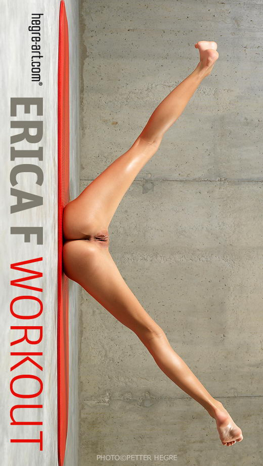 Erica F - `Work Out` - by Petter Hegre for HEGRE-ART