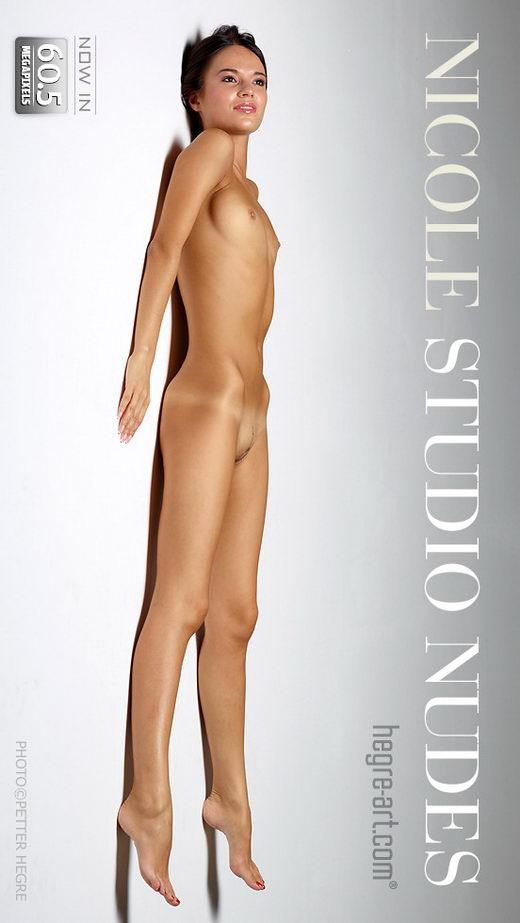 Nicole - `Studio Nudes` - by Petter Hegre for HEGRE-ART