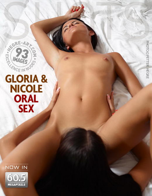 Gloria & Nicole - `Oral Sex` - by Petter Hegre for HEGRE-ART
