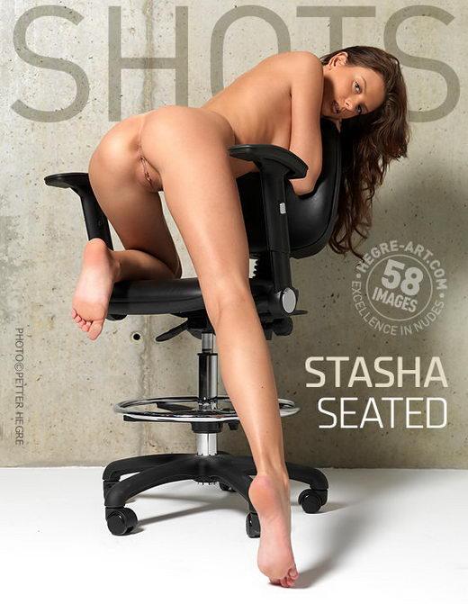 Stasha - `Seated` - by Petter Hegre for HEGRE-ART