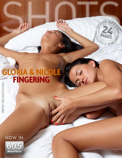 Gloria & Nicole - `Fingering` - by Petter Hegre for HEGRE-ART