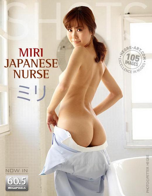 Miri - `Japanese Nurse` - by Petter Hegre for HEGRE-ART