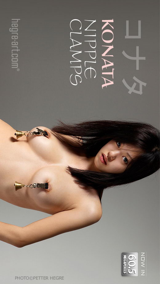 Konata - `Nipple Clamps` - by Petter Hegre for HEGRE-ART