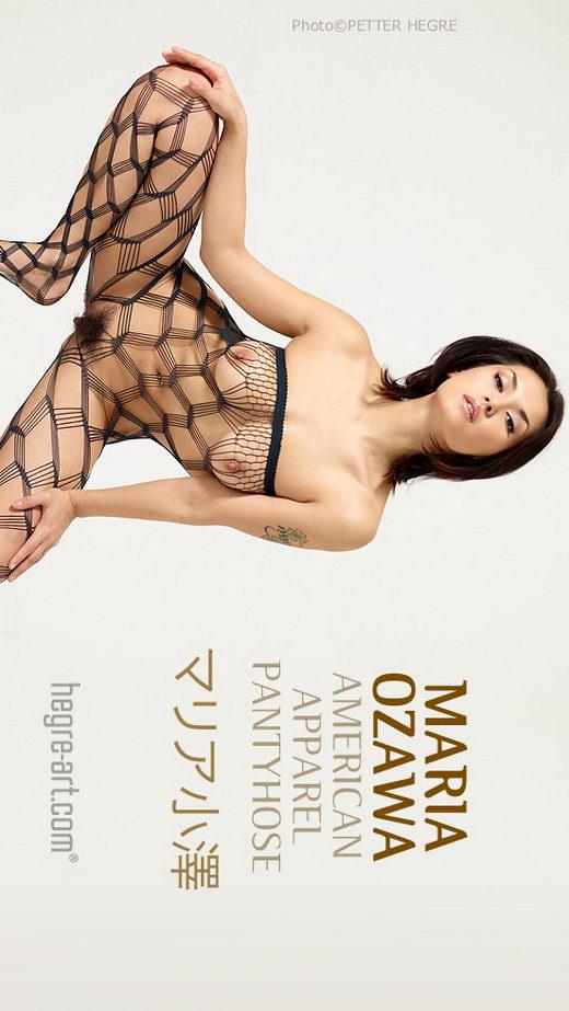 Maria Ozawa - `American Apparel Pantyhose` - by Petter Hegre for HEGRE-ART