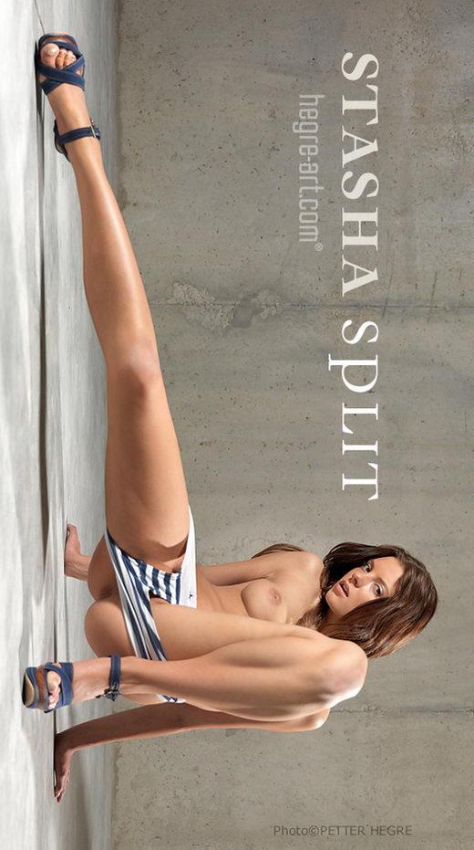 Stasha - `Split` - by Petter Hegre for HEGRE-ART