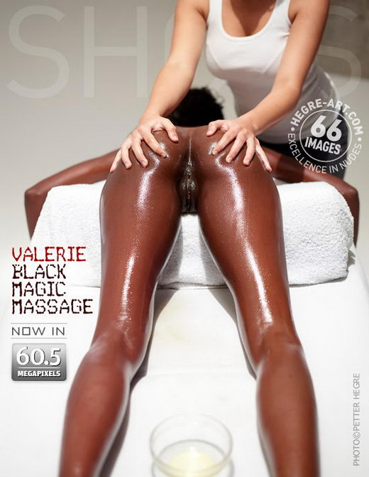 Valerie - `Erotic Massage` - by Petter Hegre for HEGRE-ART