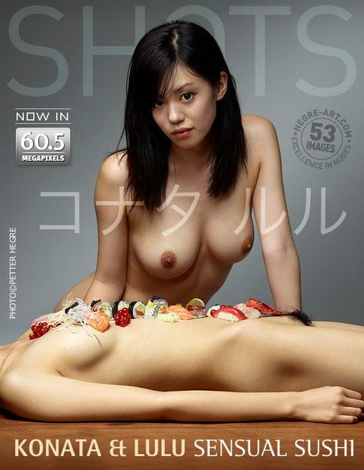 Konata & Lulu - `Sensual Sushi` - by Petter Hegre for HEGRE-ART