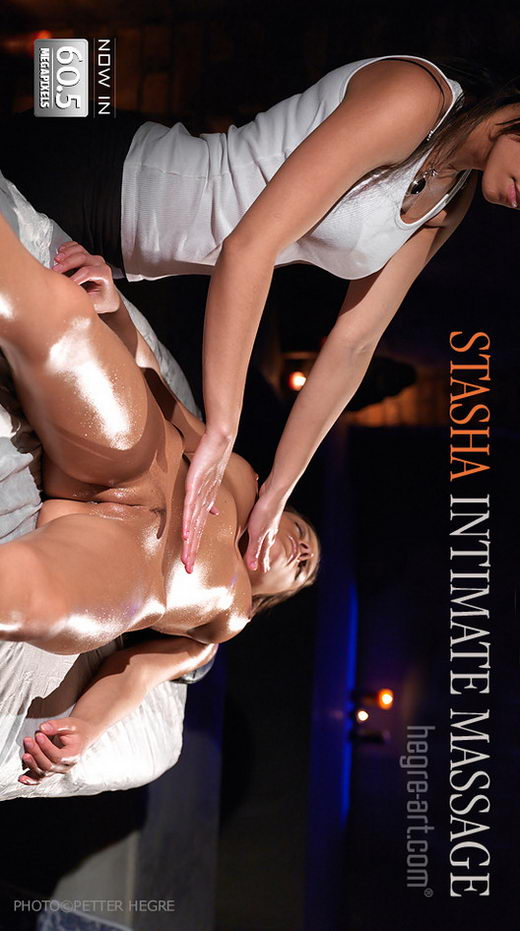 Stasha - `Intimate Massage` - by Petter Hegre for HEGRE-ART
