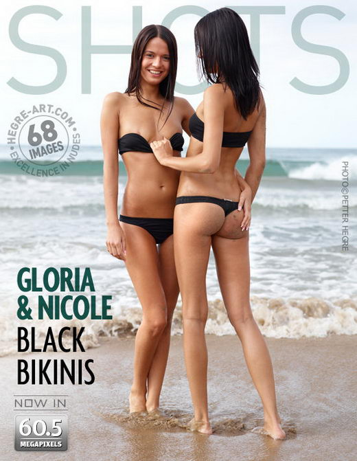 Gloria & Nicole - `Black Bikinis` - by Petter Hegre for HEGRE-ART