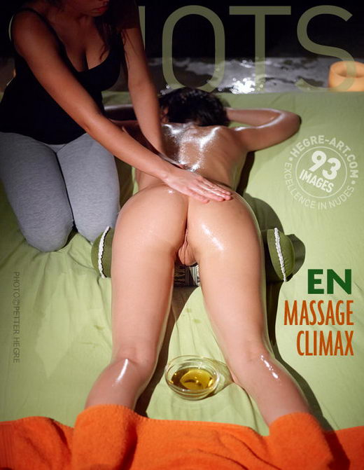 En - `Massage Climax` - by Petter Hegre for HEGRE-ART