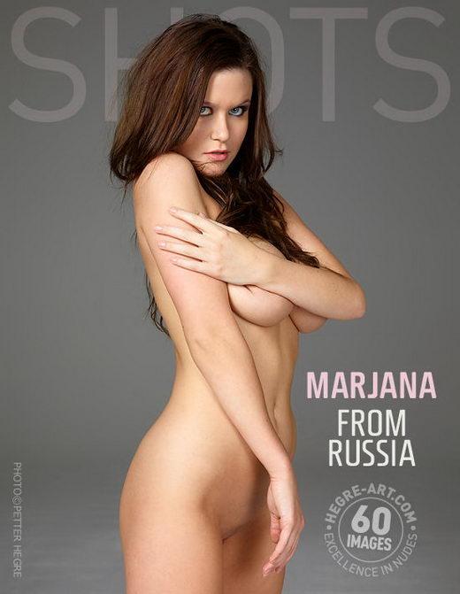Marjana - `From Russia` - by Petter Hegre for HEGRE-ART