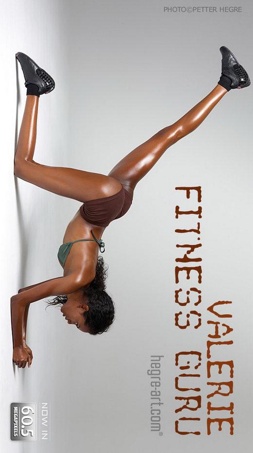 Valerie - `Fitness Guru` - by Petter Hegre for HEGRE-ART