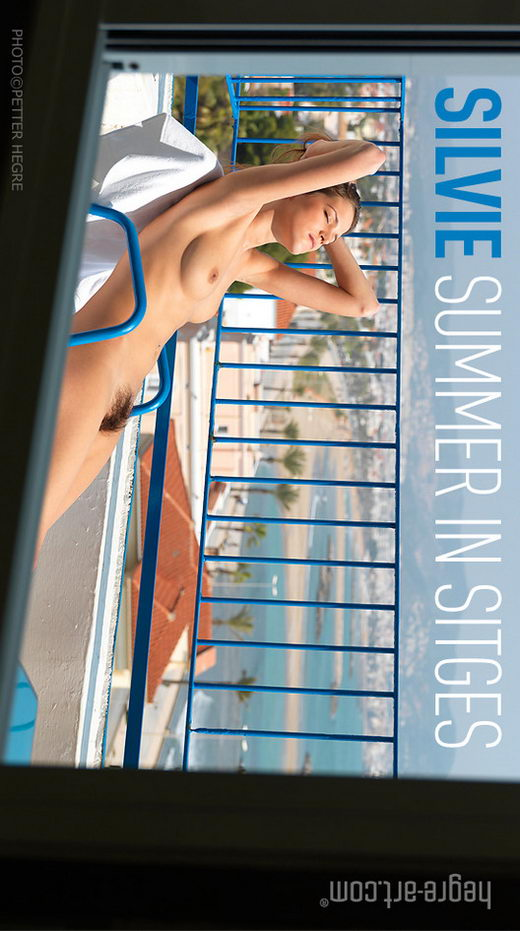 Silvie - `Summer in Sitges` - by Petter Hegre for HEGRE-ART