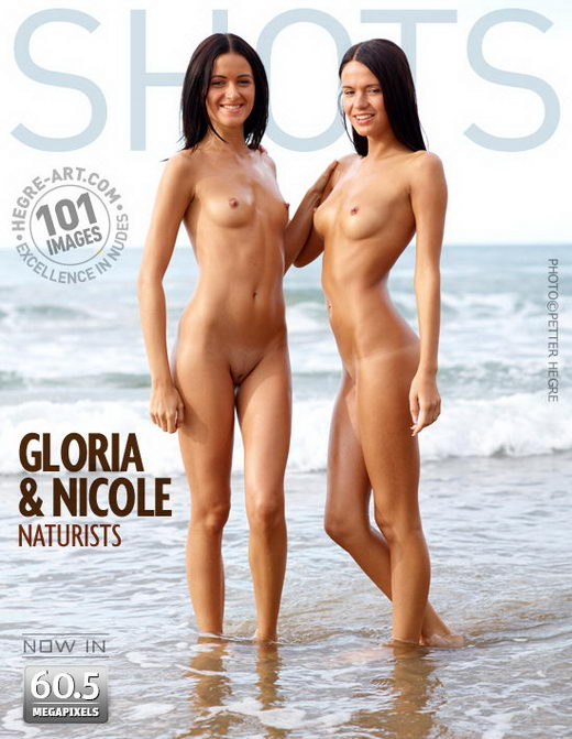 Gloria and Nicole - `Naturists` - by Petter Hegre for HEGRE-ART