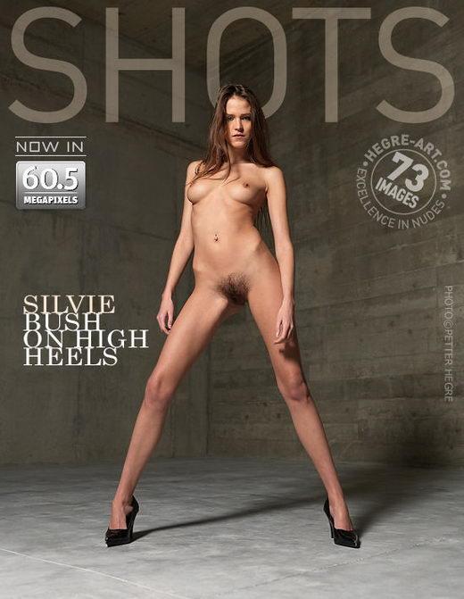 Silvie - `Bush On High Heels` - by Petter Hegre for HEGRE-ART