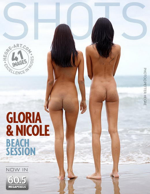 Gloria & Nicole - `Beach Session` - by Petter Hegre for HEGRE-ART