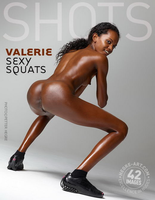 Valerie - `Sexy Squats` - by Petter Hegre for HEGRE-ART