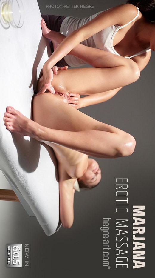 Marjana - `Erotic Massage` - by Petter Hegre for HEGRE-ART