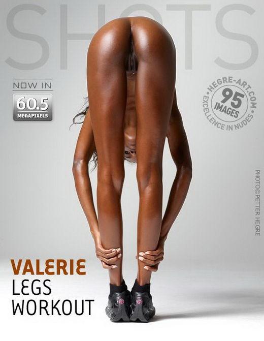 Valerie - `Legs Workout` - by Petter Hegre for HEGRE-ART
