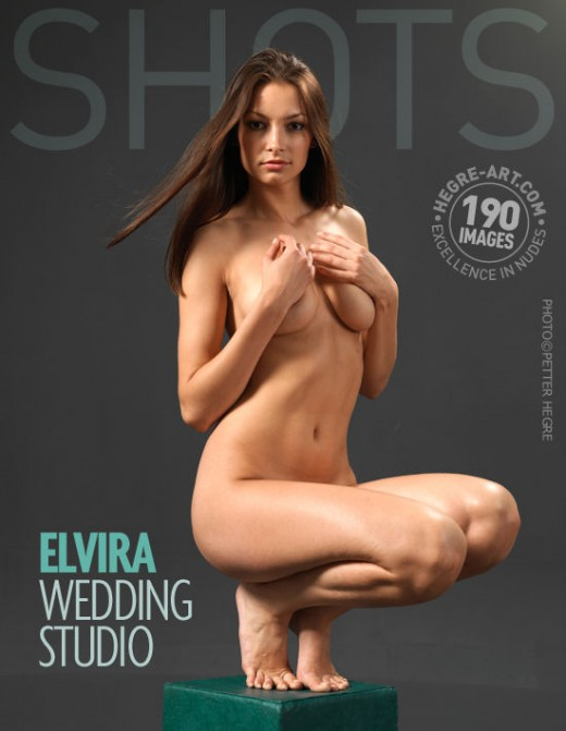 Elvira - `Wedding Studio` - by Petter Hegre for HEGRE-ART