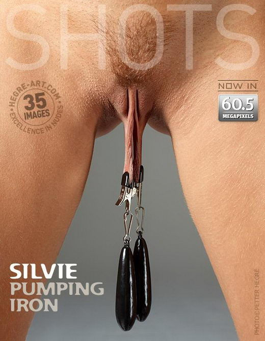 Silvie - `Pumping Iron` - by Petter Hegre for HEGRE-ART