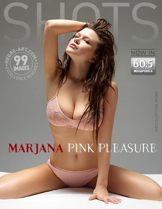 Marjana - `Pink Pleasure` - by Petter Hegre for HEGRE-ART