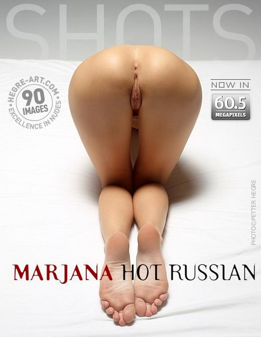 Marjana - `Hot Russian` - by Petter Hegre for HEGRE-ART