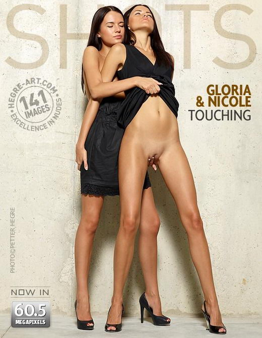 Gloria & Nicole - `Touching` - by Petter Hegre for HEGRE-ART