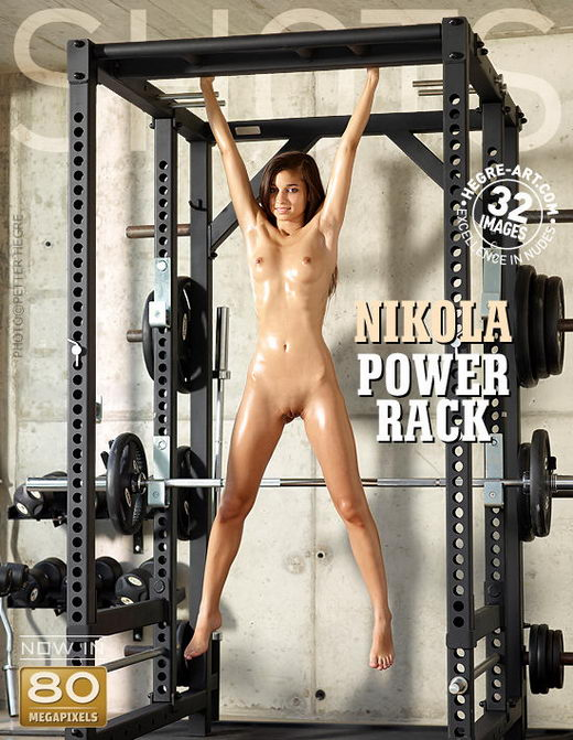 Nikola - `Power Rack` - by Petter Hegre for HEGRE-ART