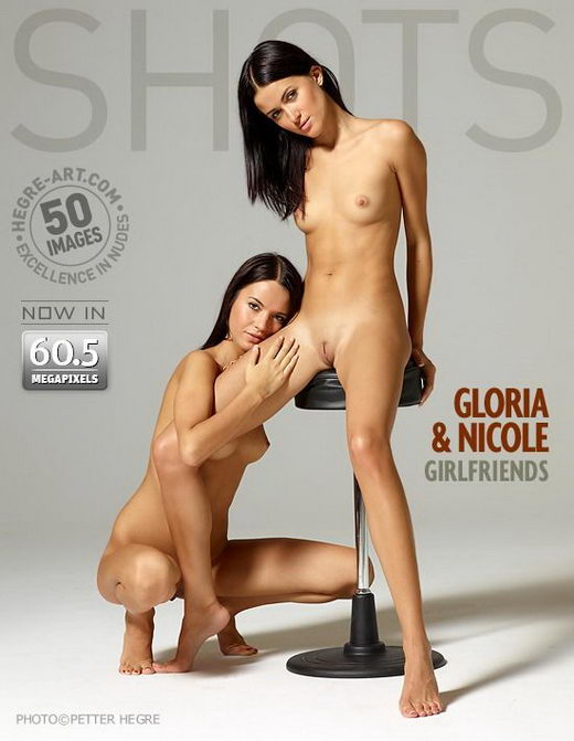 Gloria & Nicole - `Girlfriends` - by Petter Hegre for HEGRE-ART
